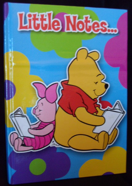 pig note book, piglet