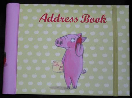 addressbook trueffel und rosa
