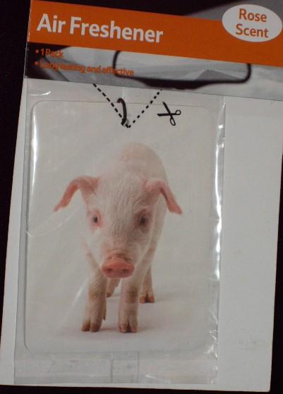 Pig Air Freshener