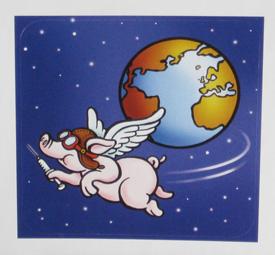 pig sticker swine flue