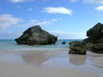 Bermuda Beach Scene