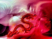 12 Chinese zodiac sign - Red Dragon