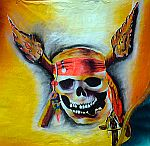 Colonial Pirates - Skull