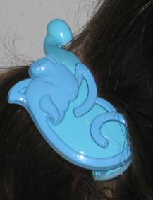 pig hairclip