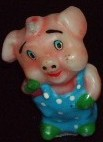 pig collection candle