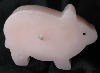 pig candle