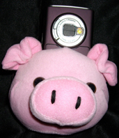 Pig Cell Phone Holder, Handy Schwein