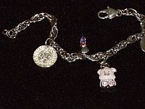 Pig Collection Charm Bracelet