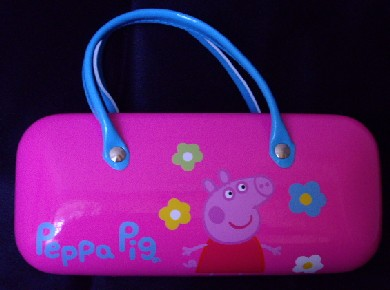 Peppa Pig Glasses Case, Peppa Schwein Brillenetui