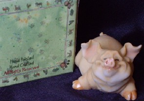Pig Figurine from Paris