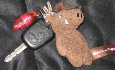 pig key chain trueffel, trueffel, Trüffel, Trüffel Schlüsselanhänger
