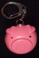 Grunting Pig Key Chain