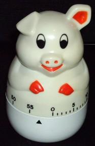 Pig Kitchen Timer