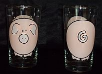 Pig Collection Glasses