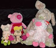 Pig Collection More Stuffed Piggies