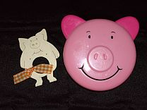 Pig Collection Tupperware Containers