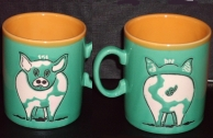 Pig Collection - Cups