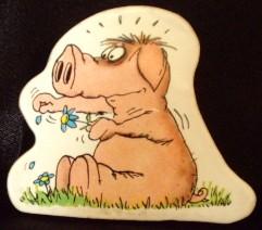 Pig Uli Stein Magnet