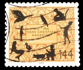 stamp with pig