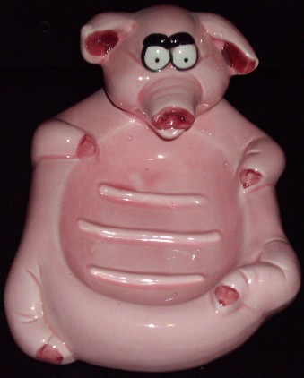 Pig Soap Holder
