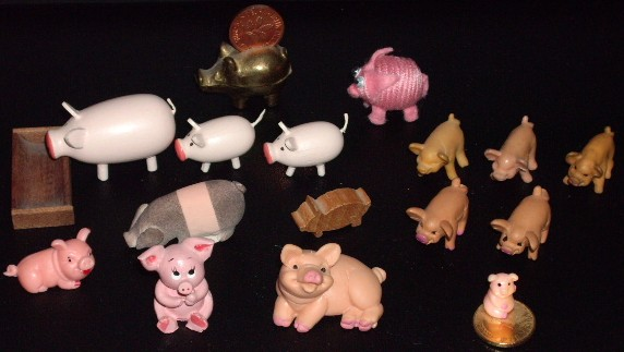 smallest Pigs of my collection