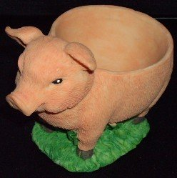 pig egg cup
