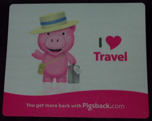 Pig Mousepad from Pigsback.com