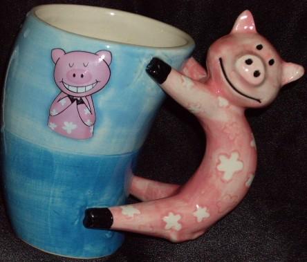 cute pig cup, schweine tasse