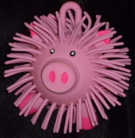 Rubber Ball Pig