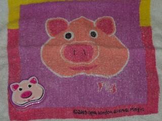 Pig Compressed Flannel, Animal Magic