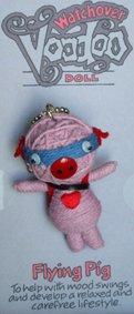 Watchover Pig Voodoo Doll, Schweine Woodoo Puppe